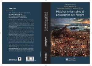Couverture Histoires universelles